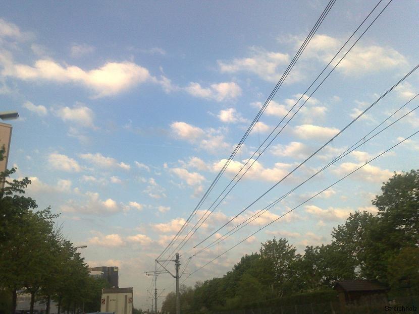 Watte Wolken